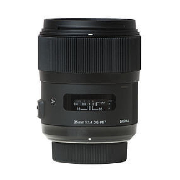 Alquiler objetivo Sigma_35mm_f1.4_DG_Art Nikon Madrid Visualrent