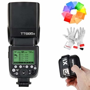 Alquiler flash godox tt685s sony Madrid Visualrent