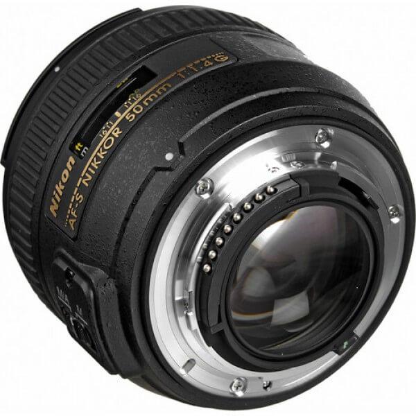 Alquiler objetivo fotografia Nikon 50mm f1.4 Madrid Visualrent