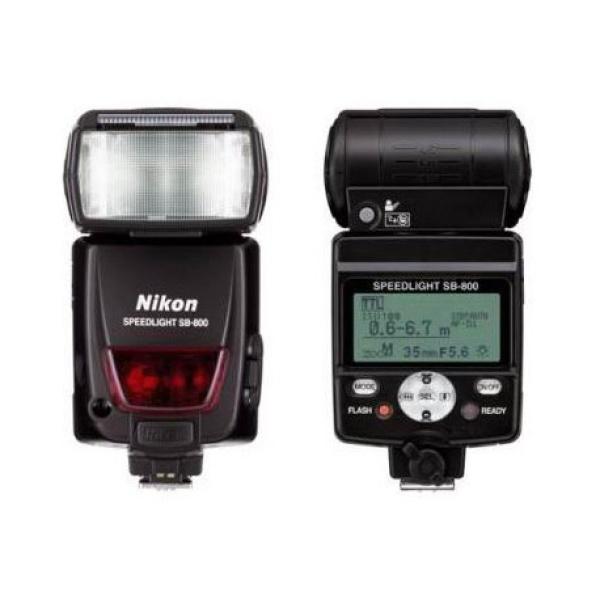 Alquiler flash nikon-sb-800 Madrid Visualrent