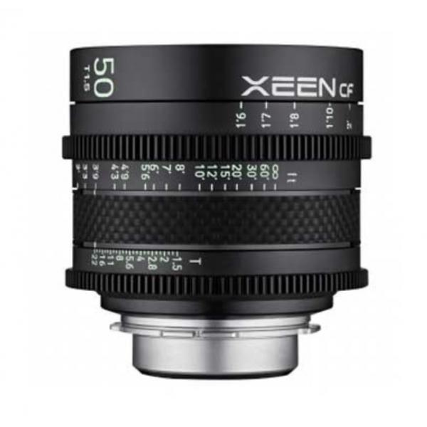 Alquiler objetivo Xeen pack 50 t1.5 Madrid - Visualrent