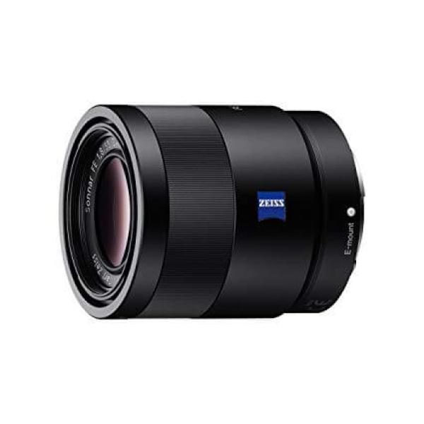 Alquiler objetivo fotografía Sony Zeiss 55 f1.8 Madrid Visualrent