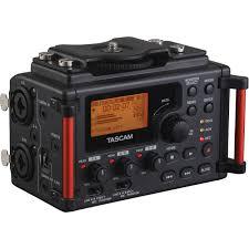 Alquiler audio sonido grabadora Tascam DR60 Madrid Visualrent