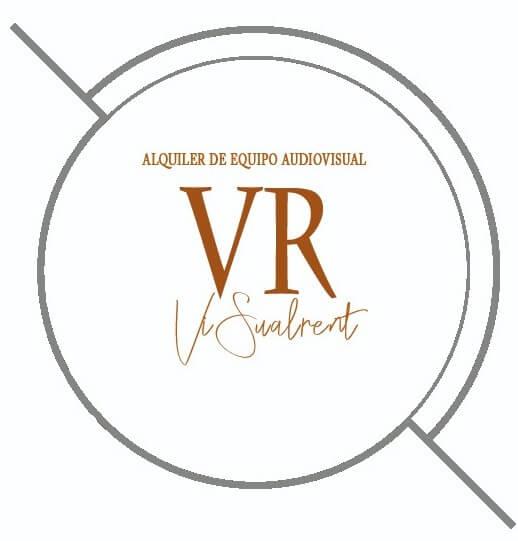 Logo Visualrent Alquiler equipo audiovisual