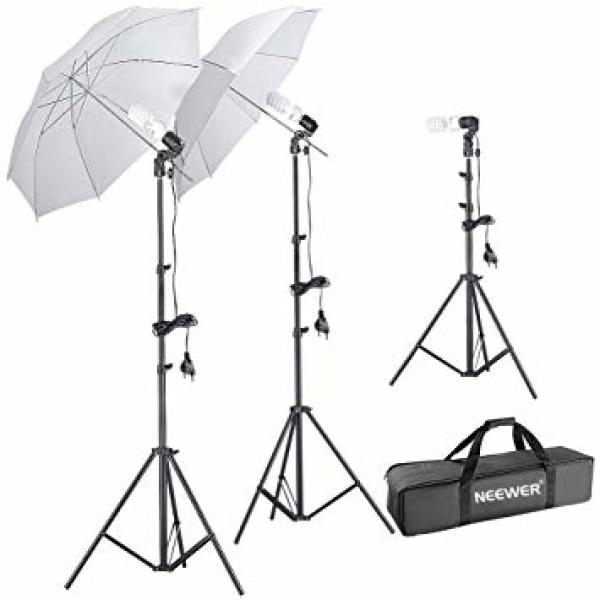 alquiler 3 paraguas iluminacion Madrid - Visualrent