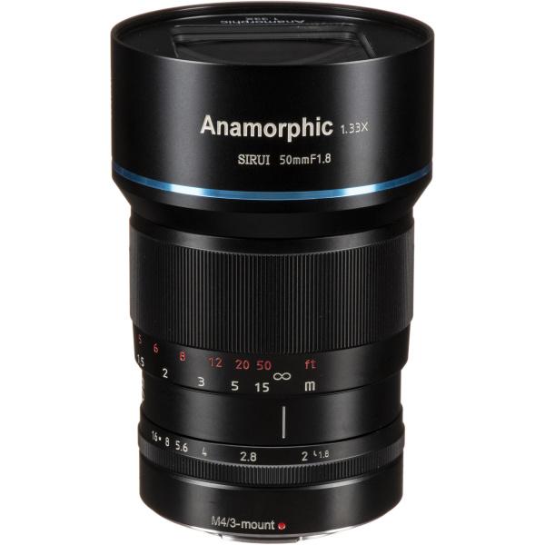 Alquiler objetivo Siriu 50mm f1.8 anamorfico cine sony