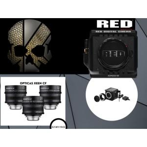 Alquiler Red Komodo + Samyang Xeen CF 24-50-85 t1.5