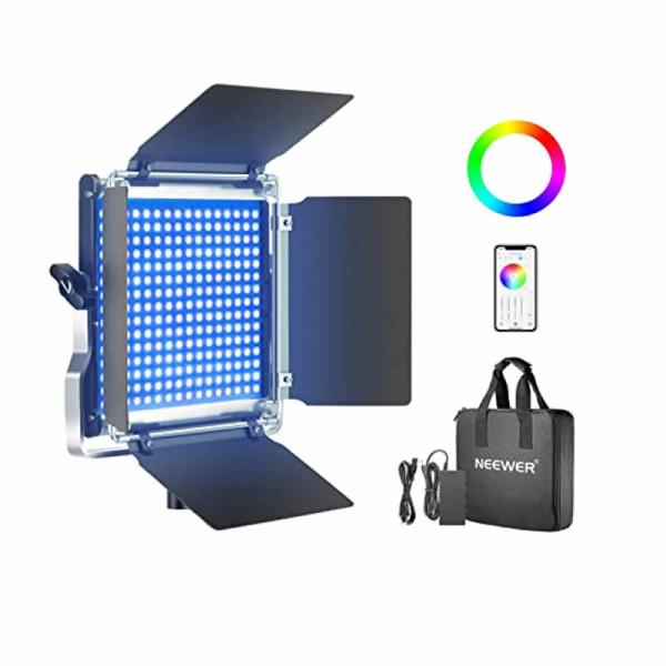 Alquiler Neewer Regulable RGW 660 LED de Luz de Vídeo