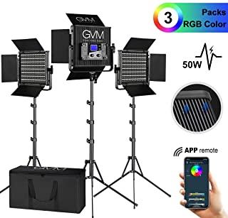Alquiler GVM 3 luces LED RGB