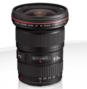 Alquiler Objetivo Canon EF 16-35 F2.8 LII USM Madrid