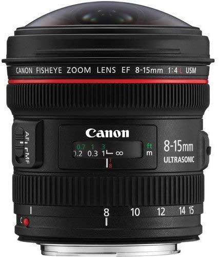 Alquiler Canon 8-15 F4 Ojo de Pez Madrid